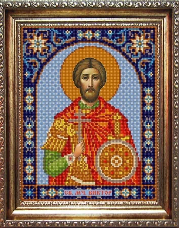 НИК 9351 Св. Виктор - рисунок на ткани