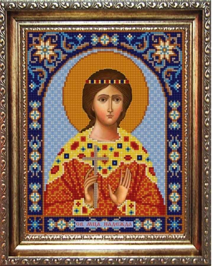 НИК 9371 Св. Надежда - рисунок на ткани