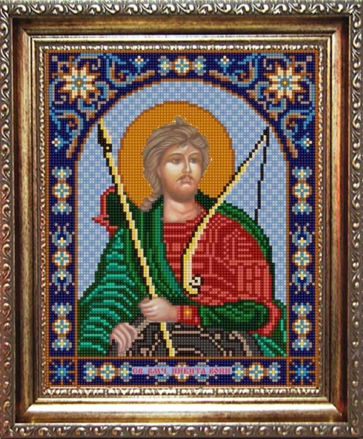 НИК 9373 Св. Никита - схема для вышивания