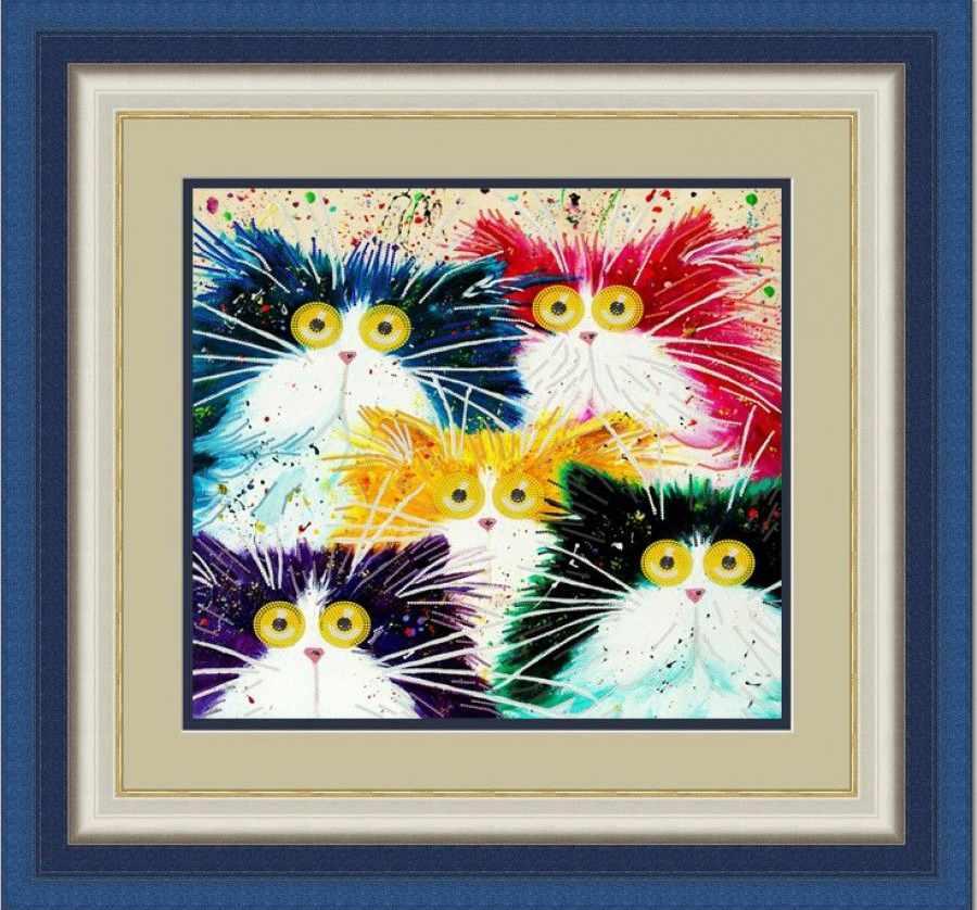 НИК 9458 Мартовские коты - рисунок на ткани