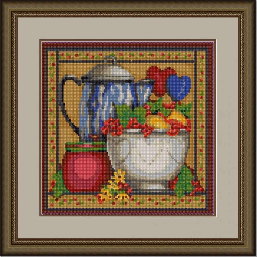НИК 9683 Кухня 1 - схема для вышивания