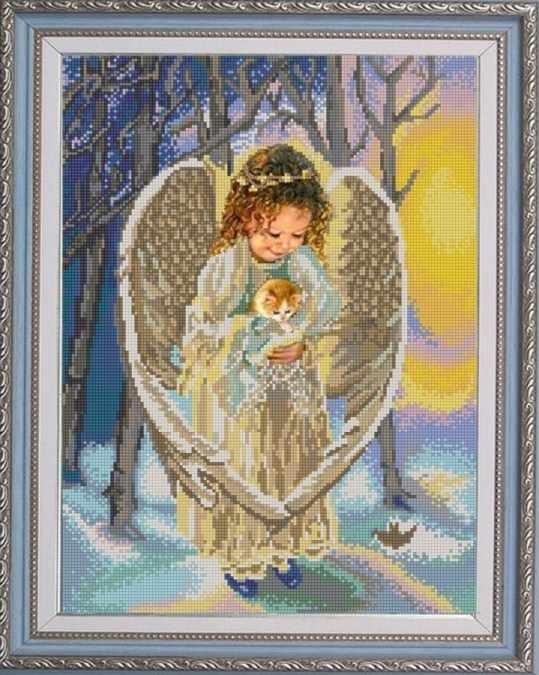 НИК 9750 Ангел - схема для вышивания