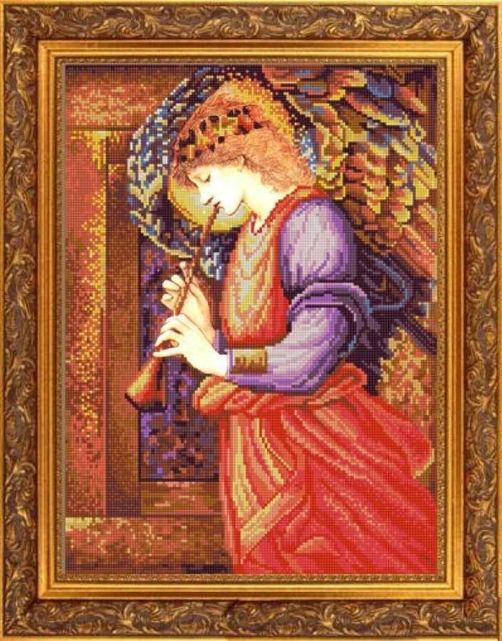 НИК 9781 Музыка Ангела - рисунок на ткани