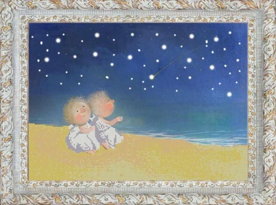 НИК 9814 Звездопад - рисунок на ткани