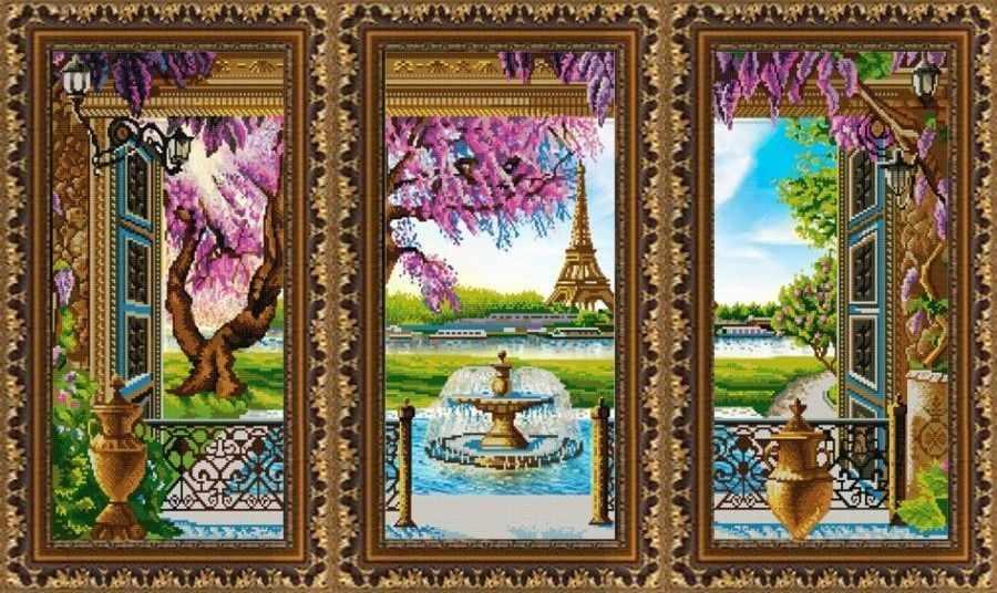 """НИК 9871 """"Триптих. Париж"""""""