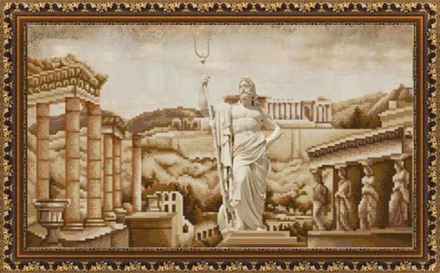 НИК 9881 Античная Греция - схема для вышивания