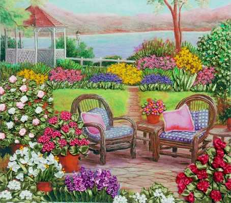 НЛ-3023 Цветущий сад (Марiчка)
