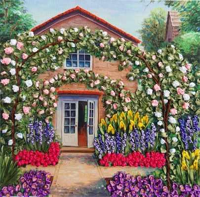 НЛ-3040 Розовый сад (Марiчка)