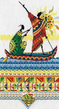 """НМ-0738 """"Африка. Масаи. Рыбаки"""""""