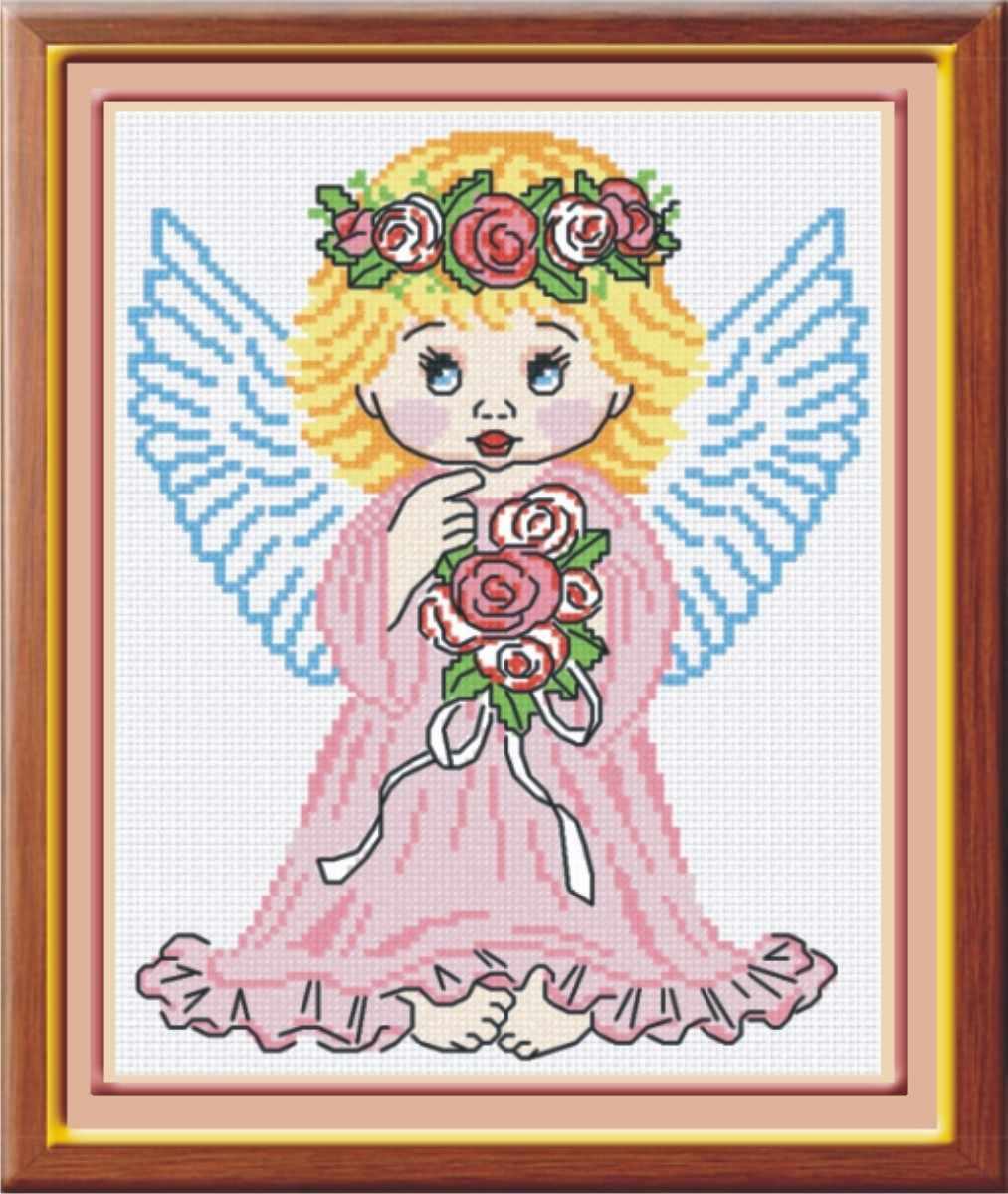 НВ-110 Ангел в розовом (МП Студия)