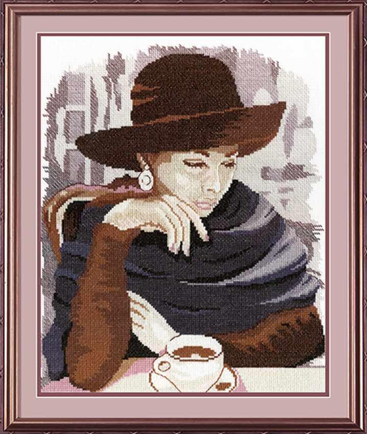 НВ-200 Девушка в кафе (МП Студия)