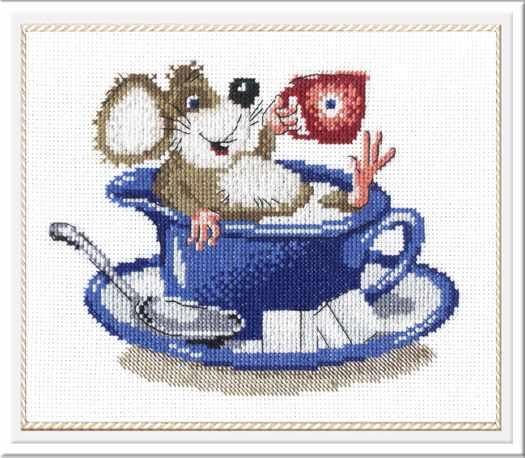 НВ-218 Мышка в чашке (МП Студия)