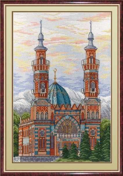 НВ-563 Владикавказская соборная мечеть (МП Студия)