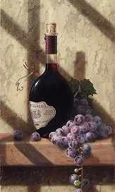 O-547 Красный виноград - мозаика Милато