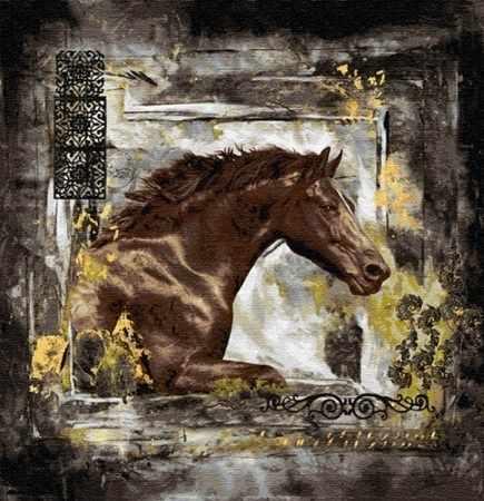 O-564 Лошадь - мозаика Милато