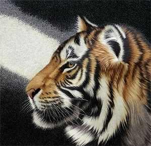 O-565 Тигр - мозаика Милато