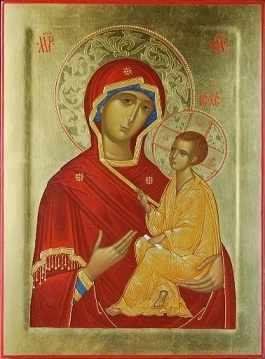 O-601 Икона Божьей Матери - мозаика Милато