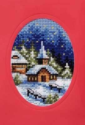 OR 6090 Рождество, церквушка