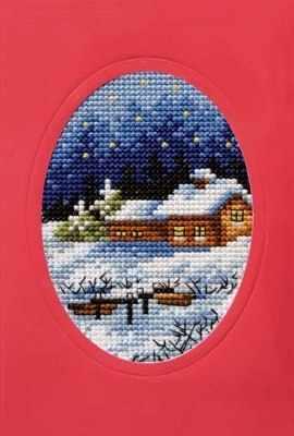 OR 6091 Рождество, домики