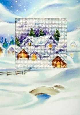 OR 6195 Рождество, домики