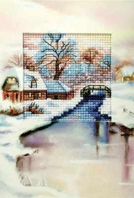 OR 6197 Рождество, река