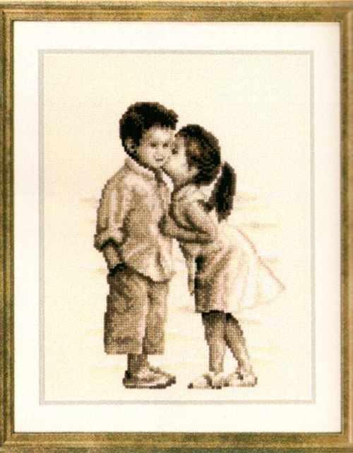 PN-0012081 Поцелуйчик (Vervaco)