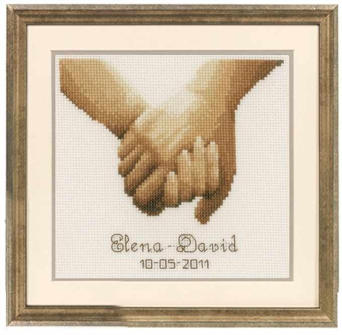 PN-0012167 Руки влюблённых (Vervaco)