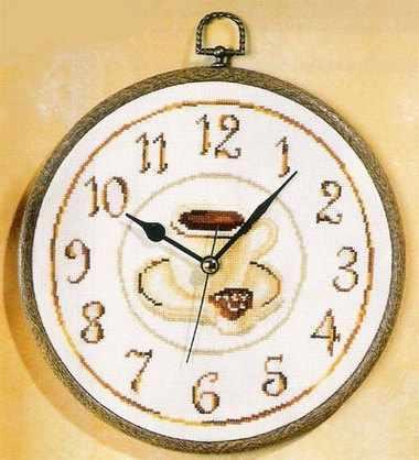 PN-0012707 Часы с кофе (Vervaco)