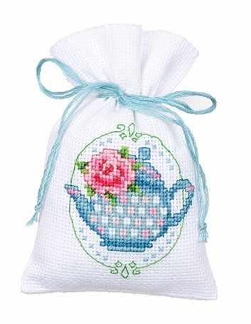 """PN-0144763 Саше """"Floral Tea Pot"""" (Vervaco)"""
