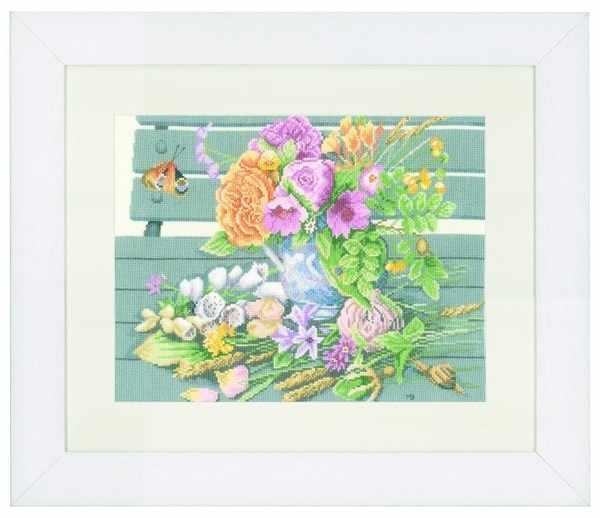 PN-0147504 Цветы на скамейке (Lanarte)