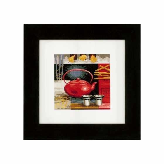 PN-0148121 Красный чайник (Vervaco)