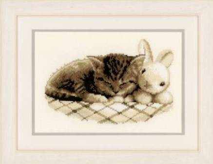 PN-0148754 Спящий котенок (Vervaco)