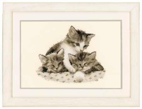 PN-0148985 Три котенка (Vervaco)