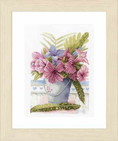 PN-0154327 Flowers in Bucket (Lanarte)