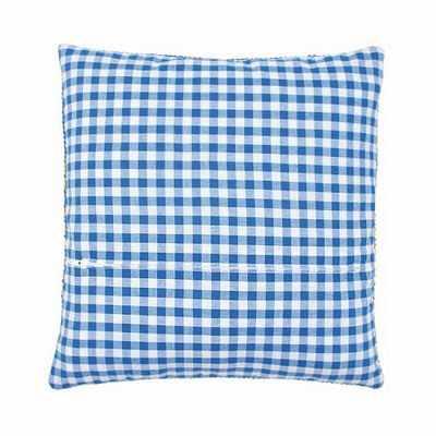 PN-0154661 Обратная сторона подушки (синяя клетка)
