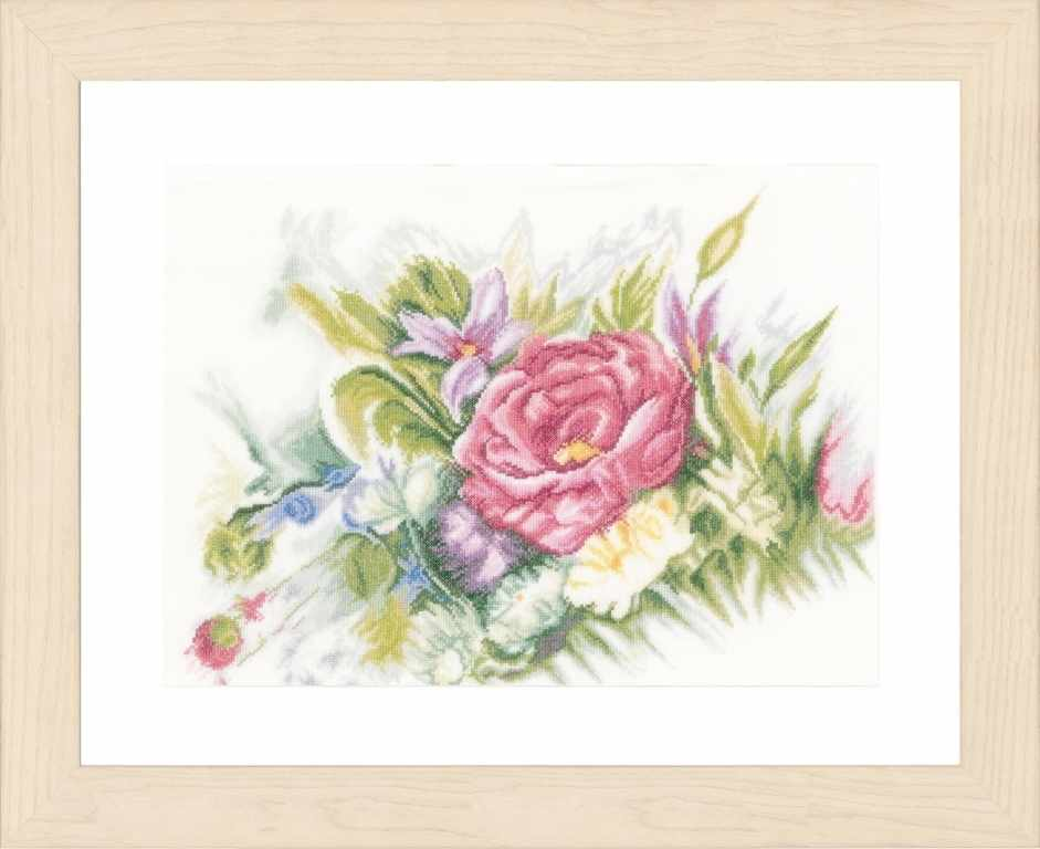 PN-0156942 Aquarel flowers (Lanarte)