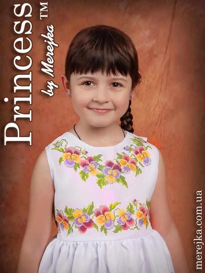 Принцесса-10 Заготовка детского платья (Мережка)