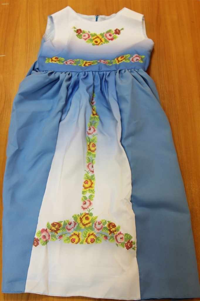 Принцесса-11 Заготовка детского платья (Мережка)