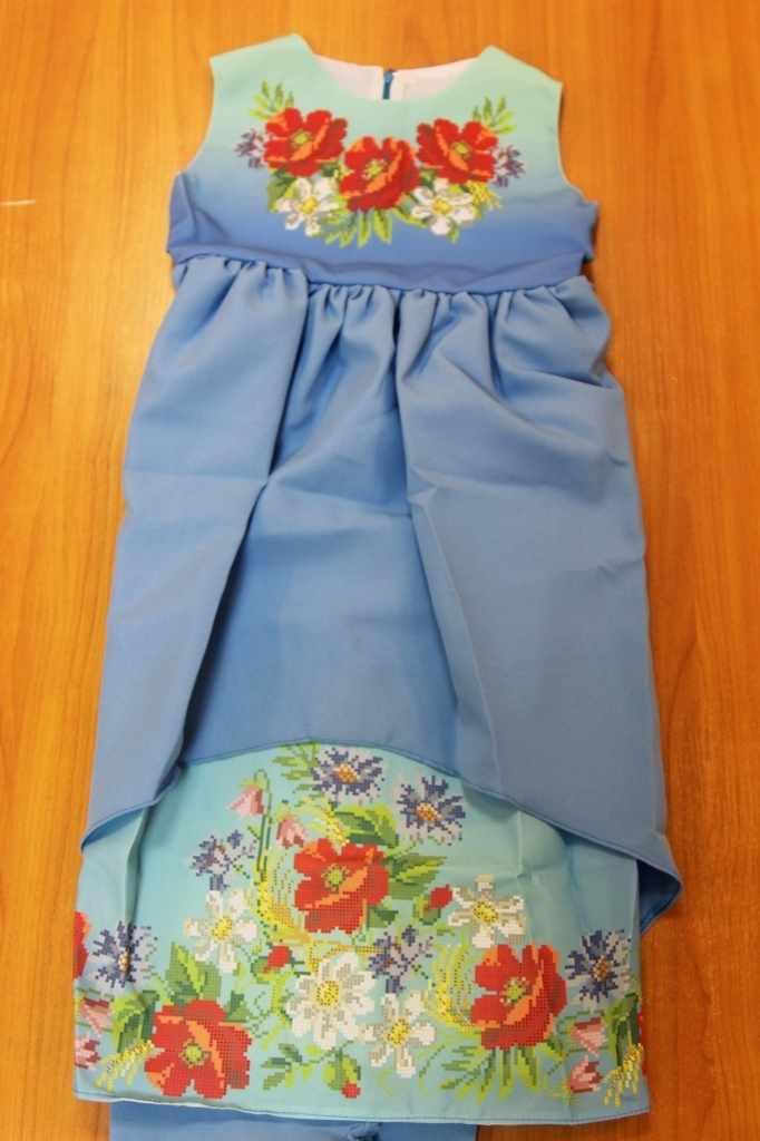 Принцесса-12 Заготовка детского платья (Мережка)