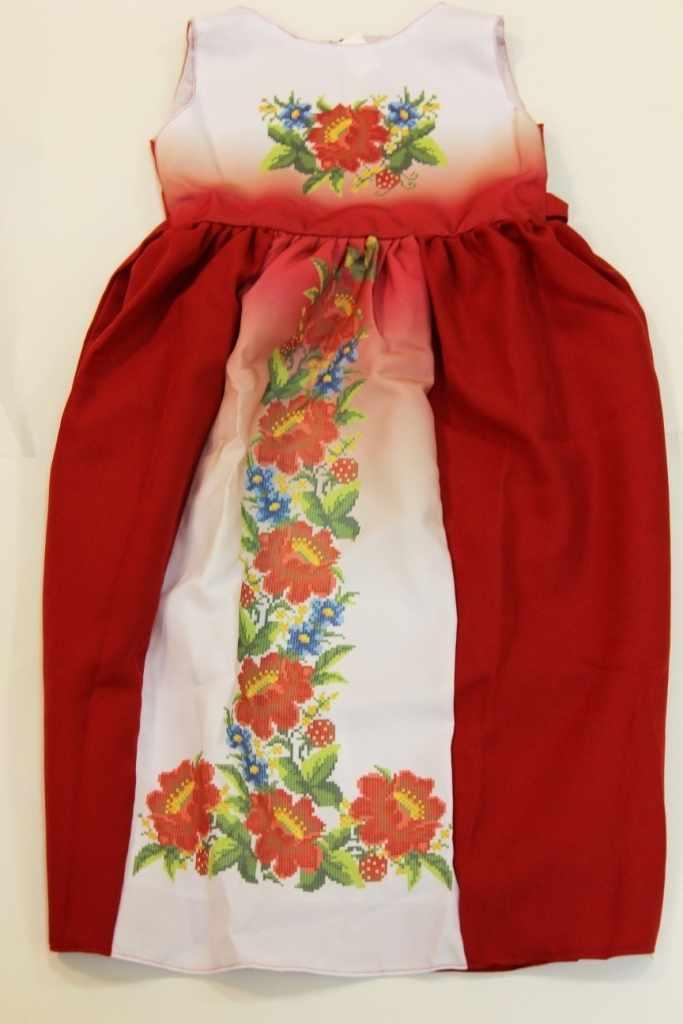 Принцесса-15 Заготовка детского платья (Мережка)