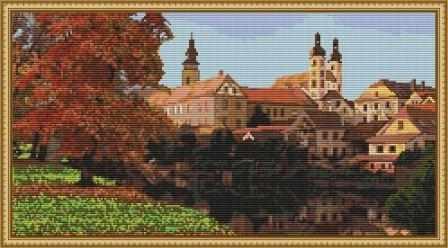 ПЗ-010 Город в отражении - набор (Орнамент)