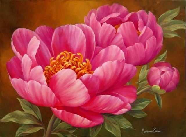R-0428 Розовые пионы