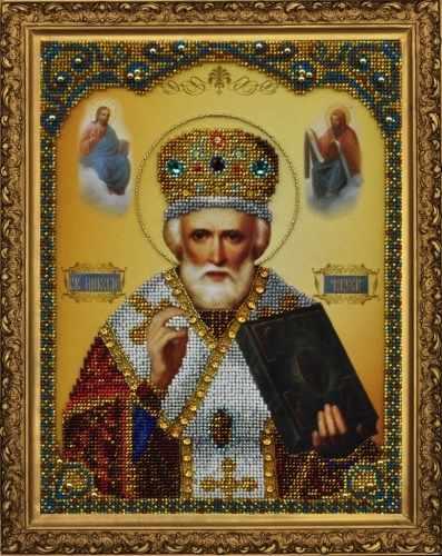 Р-182 Икона святителя Николая Чудотворца - набор для вышивания