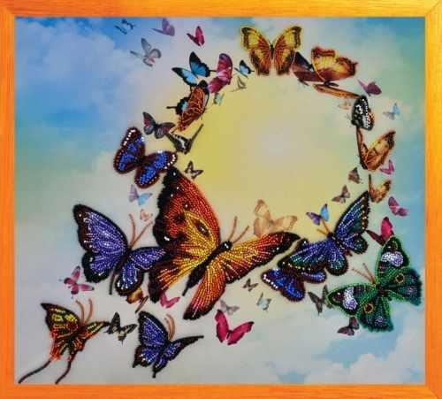 """Р-202 """"Танец бабочек"""" - набор для вышивания"""