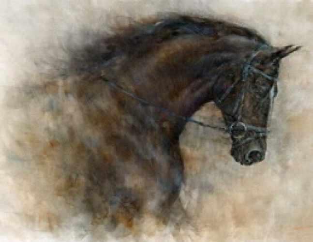R-918 Лошадь - мозаика Милато