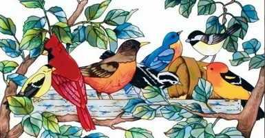 R-938 Птицы - мозаика Милато