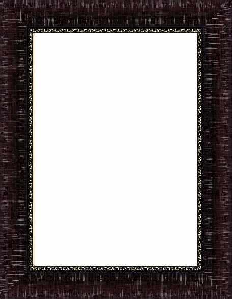 """RAM114023 - рама без стекла с прозрачным дном """"КАРАВАДЖИО"""" 26*26см. цв.коричневый"""