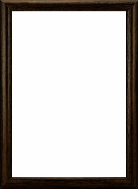 """RAM114104 - рама без стекла с прозрачным дном """"АФТОГРАФ"""" 26*26см. цв. орех"""