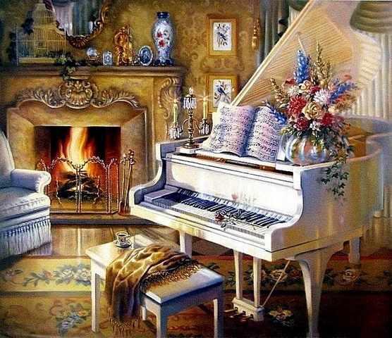RDG-0311 Белый рояль