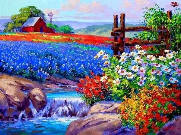 RDG-1168 Поле цветов